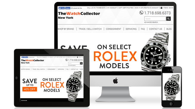 TheWatchCollector NY - Ecommerce