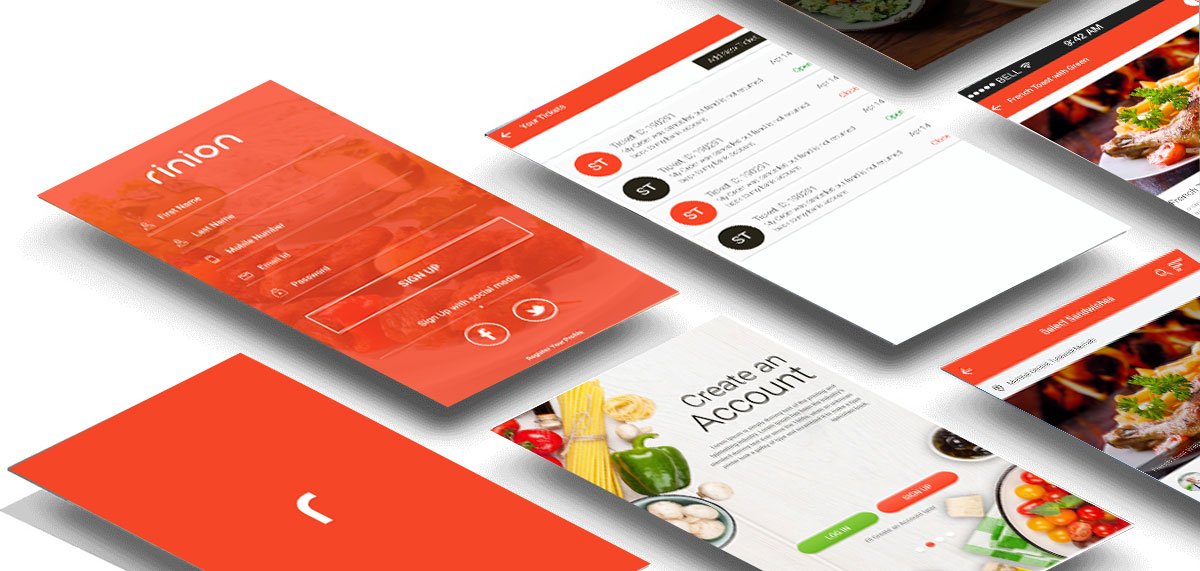 Food Delivery App:OMSOFTWARE