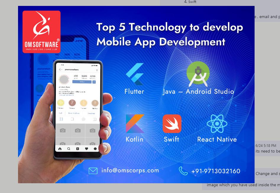 OMSoftwareInternetSolutionsPvtLtd,Pune,Twitter,Instagram,Facebook,Google,Mobile application development company